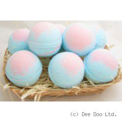 Baby Powder Large Bath Bomb