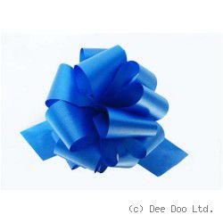 Blue Pull Bows