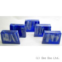 Blue Lagoon Soap Slices