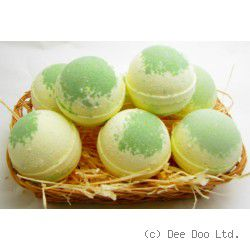 Lemongrass and Lime Large Bath Bomb